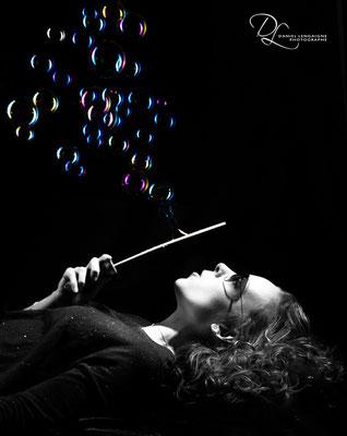 séance photo bulles; portrait oise ;  portrait picardie; séance photo à thème