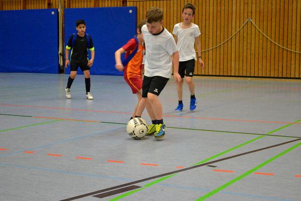 Fussballturnier an der Steinenbergschule in Stuttgart-Hedelfingen