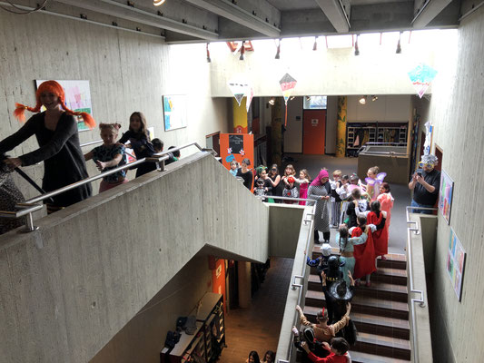 Fasching in der Steinenbergschule Stuttgart-Hedelfingen