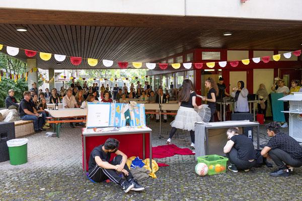 Verabschiedung und Begrüßung 2021 an der Steinenbergschule Stuttgart - 34