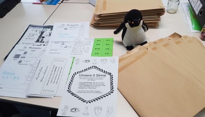 Vorbereitung von Unterrichtsmaterial