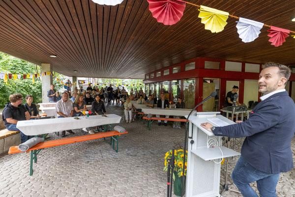 Verabschiedung und Begrüßung 2021 an der Steinenbergschule Stuttgart - 9