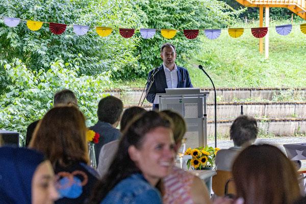 Verabschiedung und Begrüßung 2021 an der Steinenbergschule Stuttgart - 17