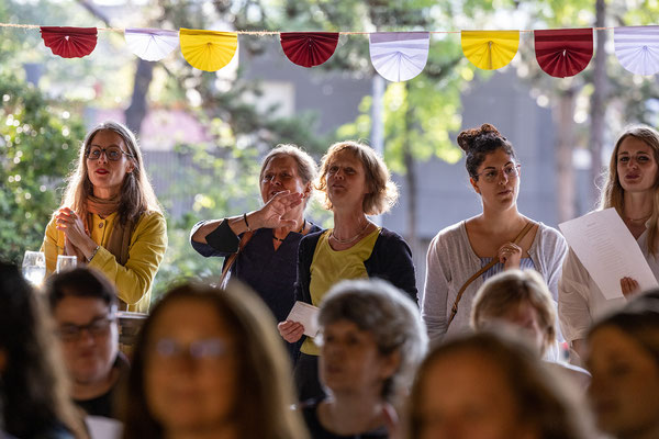 Verabschiedung und Begrüßung 2021 an der Steinenbergschule Stuttgart - 32