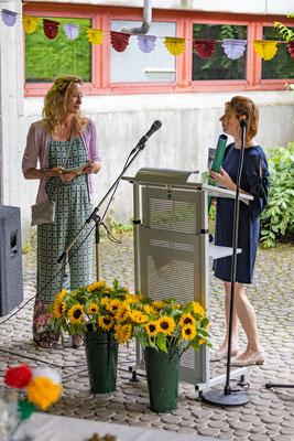 Verabschiedung und Begrüßung 2021 an der Steinenbergschule Stuttgart - 20