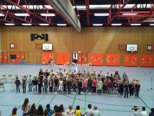 Steinenbergschule Stuttgart Hedelfingen - Einschulung der 1. Klässler Schuljahr 2019-20