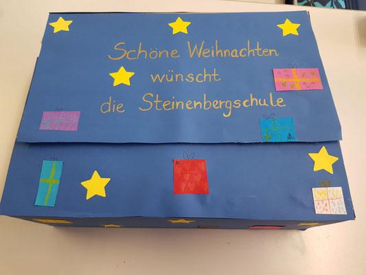 Die 2. Klassen der Steinenbergschule haben für das Emma-Reichle-Heim gebastelt