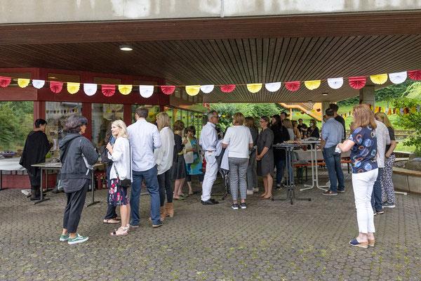 Verabschiedung und Begrüßung 2021 an der Steinenbergschule Stuttgart - 1
