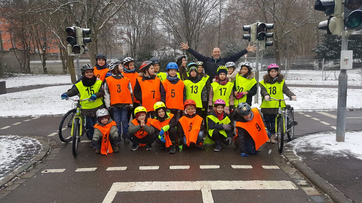 Fahrradprüfung der Klasse 4 - 2