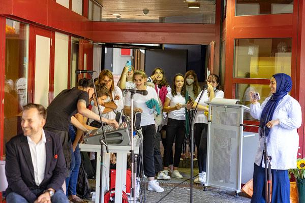 Verabschiedung und Begrüßung 2021 an der Steinenbergschule Stuttgart - 25