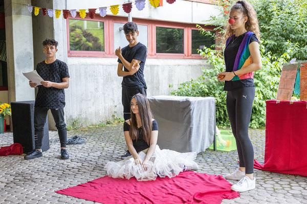 Verabschiedung und Begrüßung 2021 an der Steinenbergschule Stuttgart - 26