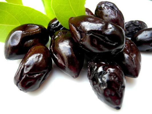 Eingelegte Kalamon Oliven-Essfertig