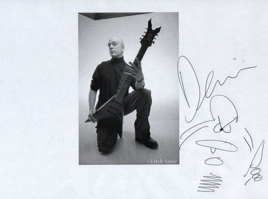 Guillaume CRuDY Deconinck - Interview - Devin Townsend