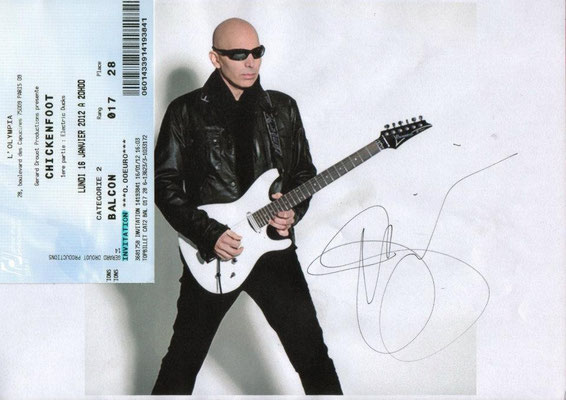 Guillaume CRuDY Deconinck - Interview - Joe Satriani