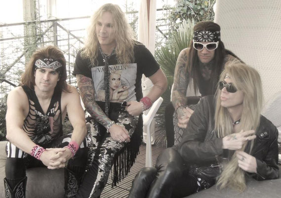 Guillaume CRuDY Deconinck - Interview - Steel Panther