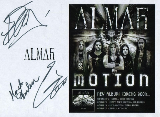 Guillaume CRuDY Deconinck - Interview - Almah