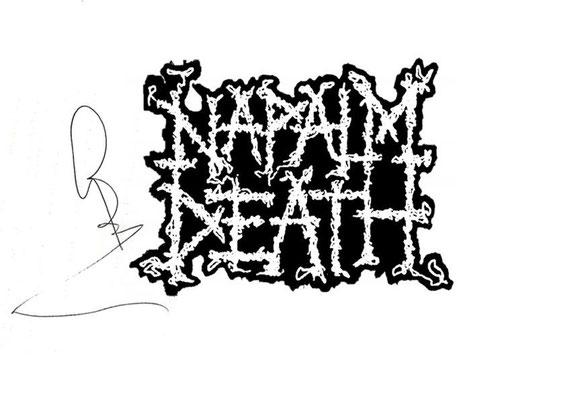 Guillaume CRuDY Deconinck - Interview - Napalm Death