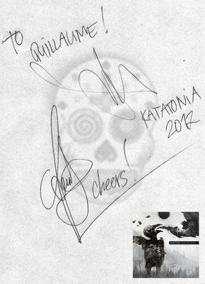 Guillaume CRuDY Deconinck - Interview - Katatonia