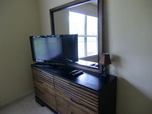 Flat TV's in allen Schlafzimmern