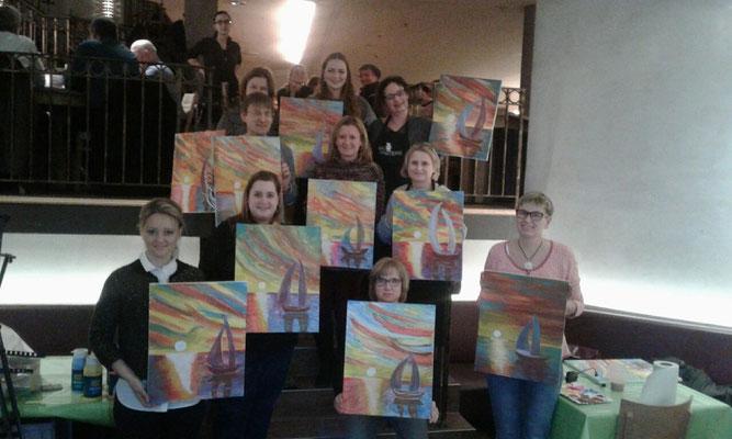 Artmasters-Event im Aposto, Karlsruhe