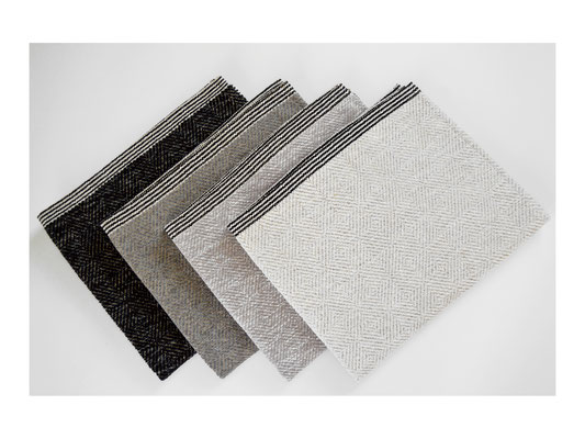 """Badematte """"Seestern""""  -  50% Leinen / 50% Cotton  -  60 x 70 cm oder 60 x 100 cm"""