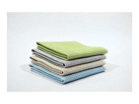 """Gästehandtuch """"Elbwaffel""""  -  75% Leinen / 25% Cotton  -  35 x 50 cm"""