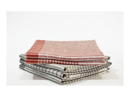 """Geschirrtuch """"Elbmarsch""""  -  75% Leinen / 25% Cotton  -  50 x 80 cm"""