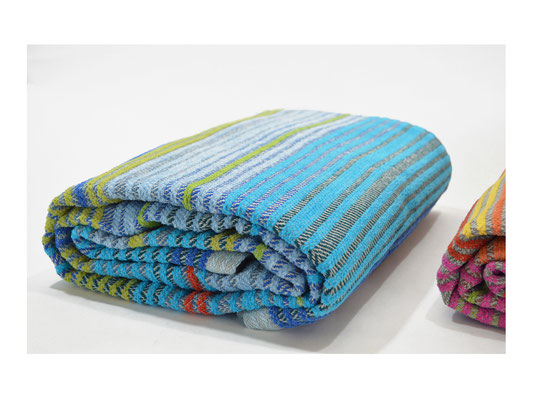 Picknickdecke  -  25% Leinen - 75% Cotton  -  140 x 140 cm
