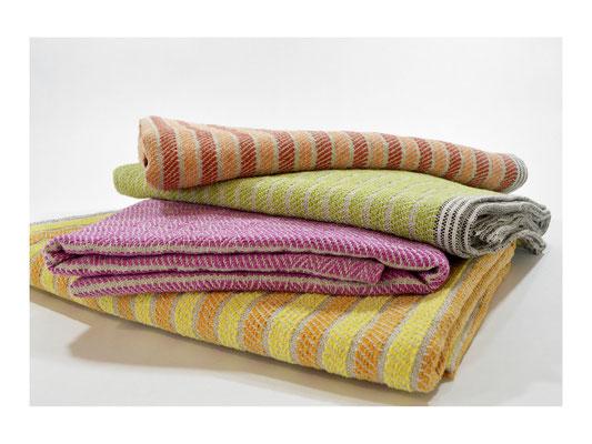 """Duschtuch """"Jolle""""  -  50% Leinen / 50% Cotton  -  75 x 150 cm"""