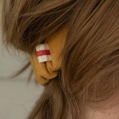 Unser handgemachtes Stonewashed Leinen-Haarband in Gelb / Our Handmade Stonewashed Linen Bandana in Yellow / Stonewashed-Haarband Gelb / Stonewashed Bandana Yellow / Stonewashed-Stirnband Gelb / Stonewashed Headband Yellow / Haarband Damen / Bandana Kids
