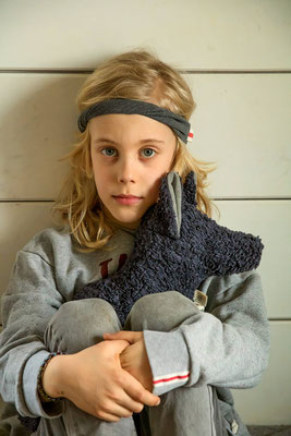 Unser handgemachtes Sweat Haarband in Grau Meliert / Our Handmade Sweat Bandana in Mixed Grey / Sweat-Haarband Grau / Sweat Bandana Gray / Sweat-Stirnband Grau / Sweat Headband Grey / Haarband Damen Frauen / Haarband Kinder Mädchen / Bandana Ladies
