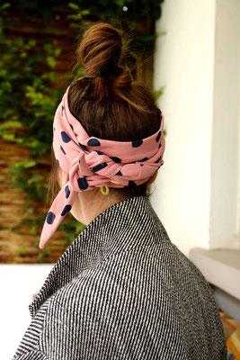 Unser handgemachtes Kopftuch aus Leichtem Sweat für Frauen und Kinder in Rosa / Our Handmade Light Sweat Headscarf for Women and Kids in Pink / Sweat Kopftuch Rosa / Sweat Headscarf Pink / Kopftuch Damen Frauen Erwachsene Kinder Mädchen / Headscarf Ladies