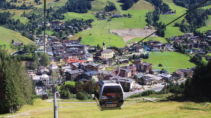 Schattberg X-press ab Saalbach