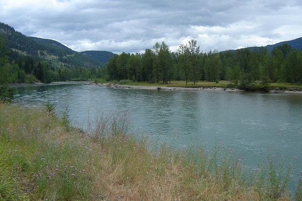 Am Thompson-River emtlang...