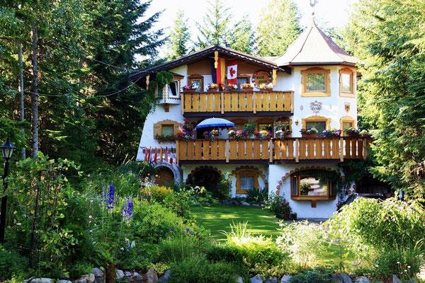 Das wunderschöne Haus Heidi auf der Vorderseite...