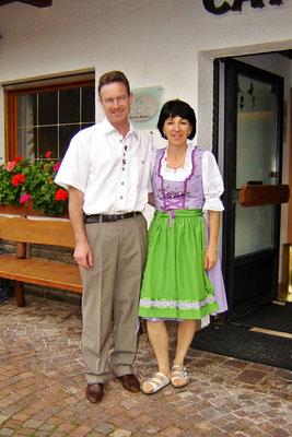 Thomas und Evelyn Neulichedl, die Gastgeber