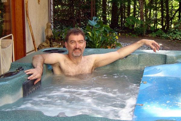 Ein Blubberbad - der Jacusi