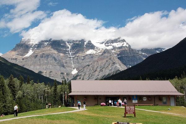 Beim Mt. Robson Tourist-Infozenter