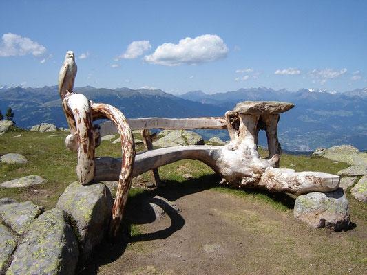 Kunstwerk Sitzbank
