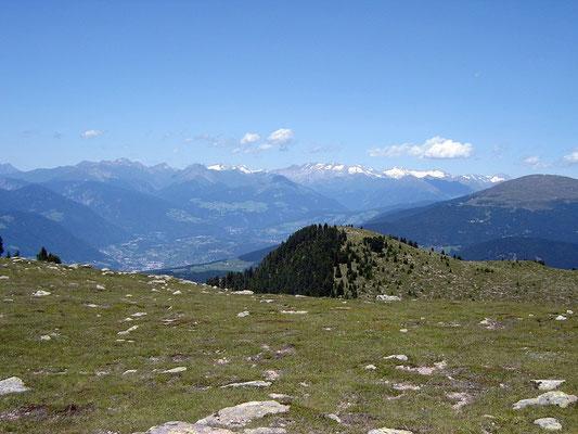 Aussicht auf Brixen