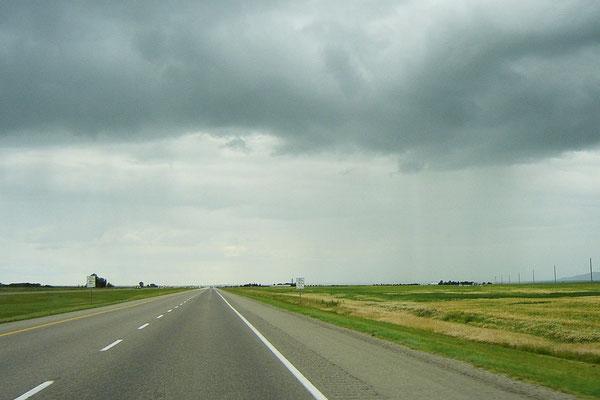 Die Anreise von Calgary