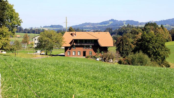 Schulhaus, in welchem Simon Gfeller unterrichtete