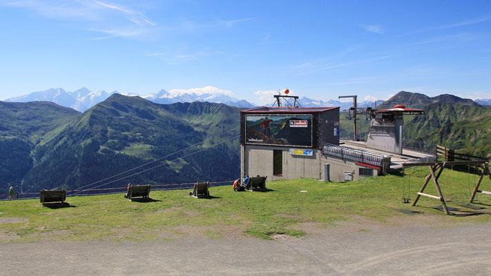 Ausblick vom Schattberg Ostgipfel