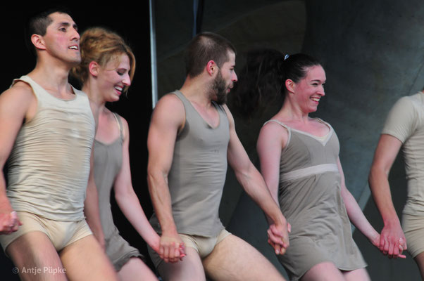Antje Püpke . Tanzkompanie Neustrelitz zur IGA 2017