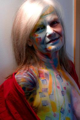 Foto: Antje Püpke, Facepainting Fantasie