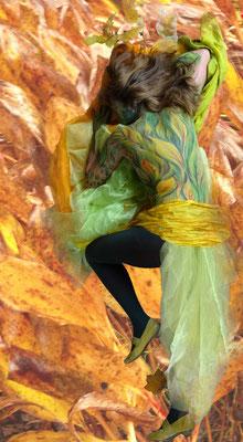 Foto: Antje Püpke, Bodypainting Herbst