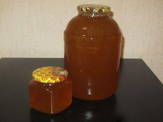 Вкуснейший гречишный мед 3,1 л. (4700 гр.) - всего за 1800 руб.