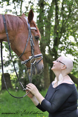 Sabine met haar paard