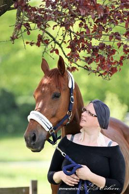 Sabine met paard