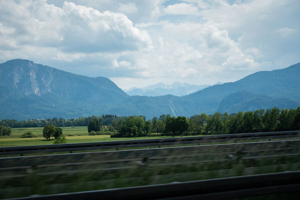 a first glimpse at the alps